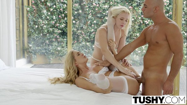 Tushy Threesome