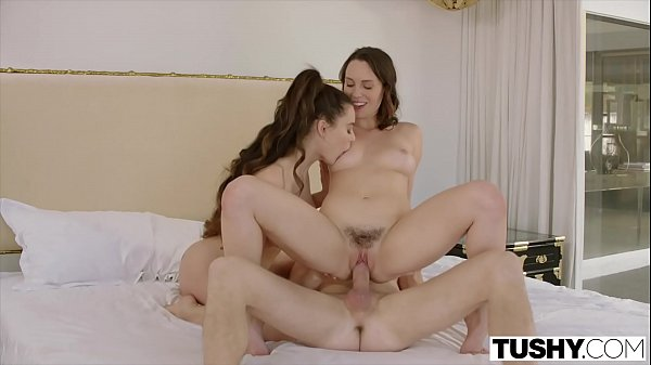 Lana Rhoades Threesome